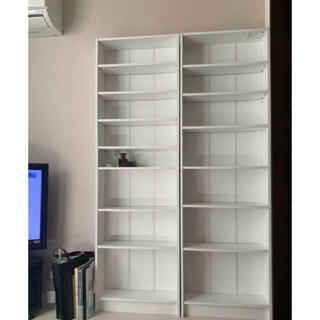 フランフラン(Francfranc)の本棚 ラック Francfranc 港区引き取り 白 2個のセットもあります♡(リビング収納)