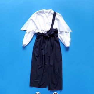 エンフォルド(ENFOLD)のENFOLD エンフォルド ワンショルダースカート 新品 38(ロングスカート)