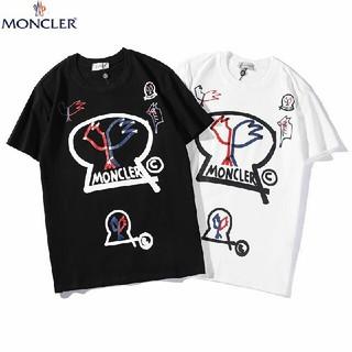 モンクレール(MONCLER)の2枚7000円送料込み 男女兼用 Tシャツ 半袖 美品  (Tシャツ/カットソー(半袖/袖なし))