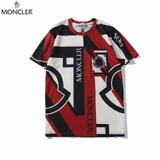 モンクレール(MONCLER)の2枚7000円送料込み 男女兼用 Tシャツ 半袖 美品(Tシャツ/カットソー(半袖/袖なし))