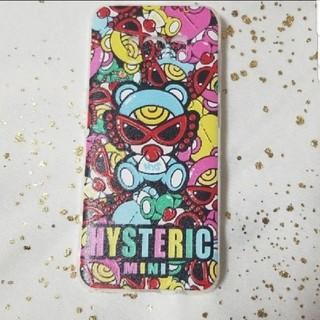 ヒステリックミニ(HYSTERIC MINI)の(新品)ヒスミニ柄携帯カバー(iPhoneケース)