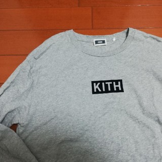 シュプリーム(Supreme)のKITH ロングスリーブシャツ ロンT L(Tシャツ/カットソー(七分/長袖))