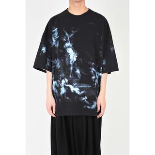 ラッドミュージシャン(LAD MUSICIAN)のSUPER BIG T-SHIRT エンジェル柄(Tシャツ/カットソー(半袖/袖なし))