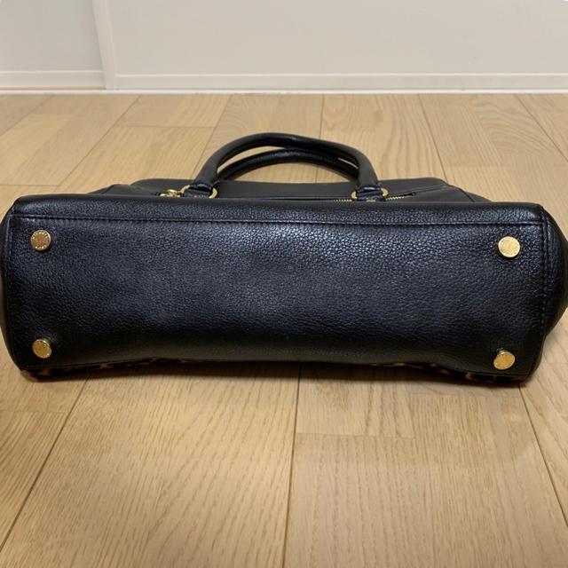 Michael Kors(マイケルコース)のマイケルコース 2way ハンドバッグ ショルダーバッグ 黒 ヒョウ柄 レディースのバッグ(ハンドバッグ)の商品写真
