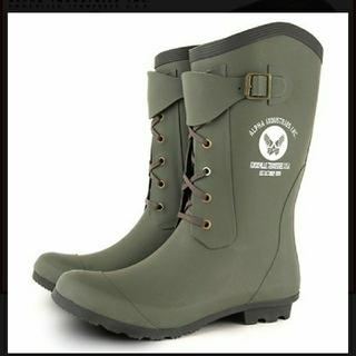アルファインダストリーズ(ALPHA INDUSTRIES)のアルファインダストリーズ レインブーツ(レインブーツ/長靴)