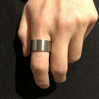 極太 ワイドリング 【20サイズ】他サイズ有り(リング(指輪))