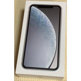 アップル(Apple)の新品:iPhone XR SIMフリー 64GB ホワイト(スマートフォン本体)