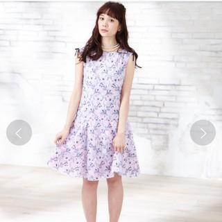 トッカ(TOCCA)の未使用タグ定価7万円■トッカ STROW FLOWER 刺繍 ワンピース 2(ひざ丈ワンピース)