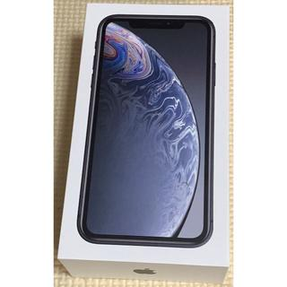 アップル(Apple)の新品:iPhone XR SIMフリー 64GB ブラック(スマートフォン本体)