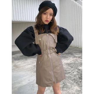 GYDA - ライダースワンピース mink tokyo