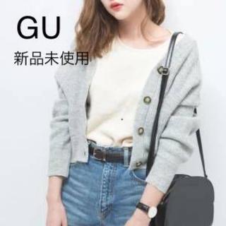 GU - GU ドルマンコクーンカーディガン