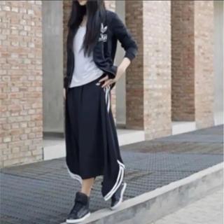 adidas - 新品未使用 adidas originals スリーストライプ ロングスカート