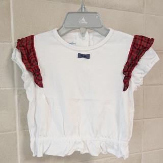 familiar - 美品 familiar 80 カットソートップス Tシャツ