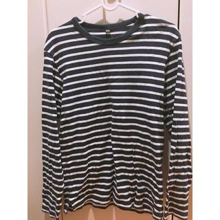 ユニクロ(UNIQLO)のボーダーシャツ(Tシャツ(長袖/七分))