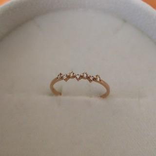 K18 ダイヤモンド ハーフエタニティ リング(リング(指輪))