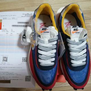 サカイ(sacai)の24cm SACAI × NIKE LVD WAFFLE BLUE MULTI (スニーカー)