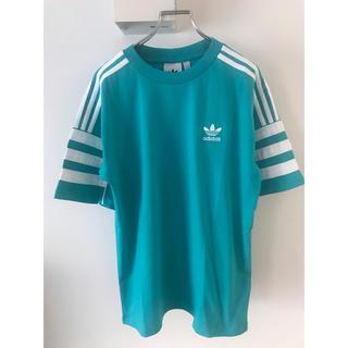 アディダス(adidas)のadidas アディダス Tシャツ M 新品 ブルーグリーン系 オリジナルス(Tシャツ/カットソー(半袖/袖なし))