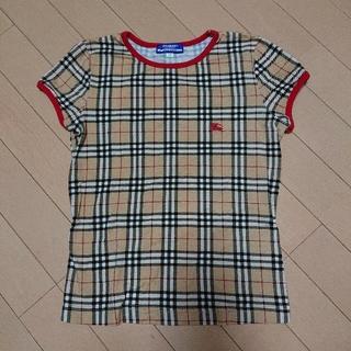 バーバリーブルーレーベル(BURBERRY BLUE LABEL)のバーバリー トップス Mサイズ(Tシャツ/カットソー)