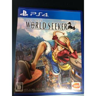 PlayStation4 - ONE PIECE  WORLD SEEKER