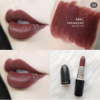 MAC - MAC店員イチオシ♡春の人気色 MAC リップ パラマウント♡新品未使用