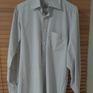 セシール(cecile)の播州織り形態安定Yシャツ 綿100% 日本製生地(シャツ)