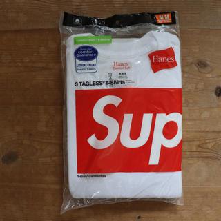 シュプリーム(Supreme)のsupreme Hanes Tシャツ tagless tee シュプリーム 2枚(Tシャツ/カットソー(半袖/袖なし))