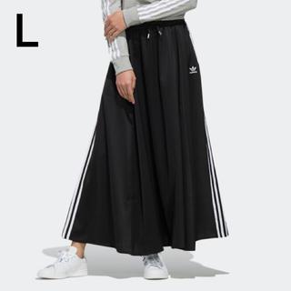 adidas - アディダスオリジナルス ロングスカート LONG SATIN SKIRT