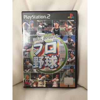 プレイステーション2(PlayStation2)の♦︎【PS2ゲーム】REAL SPORTS プロ野球(家庭用ゲームソフト)