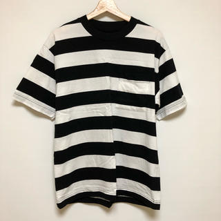 ムジルシリョウヒン(MUJI (無印良品))のMUJI Labo オーバーサイズ ボーダーTシャツ(Tシャツ/カットソー(半袖/袖なし))