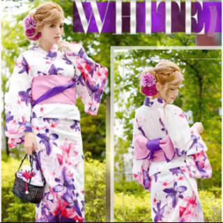 6e438e7569f4cb レディー 浴衣(ホワイト/白色系)の通販 200点以上 | Radyを買うならラクマ