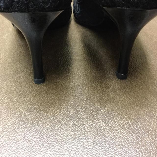 GINZA Kanematsu(ギンザカネマツ)の銀座かねまつ パンプス ダイアナ 卑弥呼 ブラック レディースの靴/シューズ(ハイヒール/パンプス)の商品写真