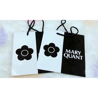 マリークワント(MARY QUANT)のMary Quant ショッパー 2枚(ショップ袋)