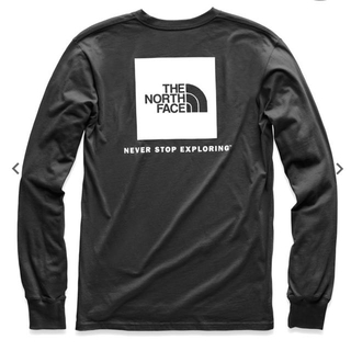 THE NORTH FACE - The North Face★レッドロゴ ロンT★Lブラック正規新品