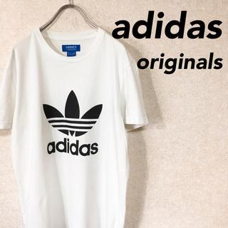 アディダス(adidas)のadidas アディダス オリジナルス 半袖 Tシャツ デカロゴ (Tシャツ/カットソー(半袖/袖なし))