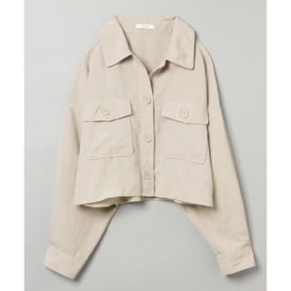 JEANASIS - JEANASIS リネンライクbigシャツジャケット
