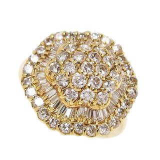 【ダイヤモンド計2.00ct】指輪/リング K18/金/(リング(指輪))
