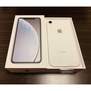 iPhone - iPhone XR White 128GB SIMフリー
