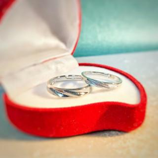 ☆即日発送☆2個セット☆シルバー925☆プレゼントに☆ペアリング フリーサイズ(リング(指輪))