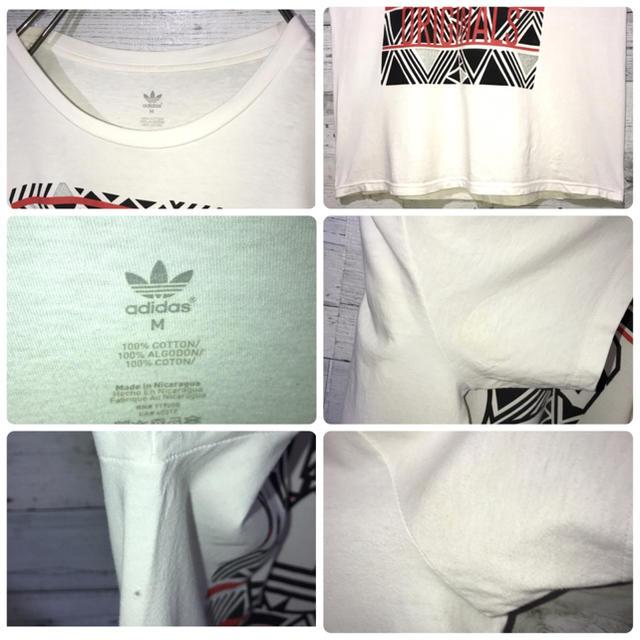 adidas(アディダス)の【レア】アディダスオリジナルス adidas☆ビッグロゴ Tシャツ メンズのトップス(Tシャツ/カットソー(半袖/袖なし))の商品写真