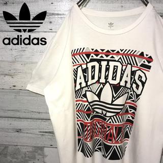 アディダス(adidas)の【レア】アディダスオリジナルス adidas☆ビッグロゴ Tシャツ(Tシャツ/カットソー(半袖/袖なし))