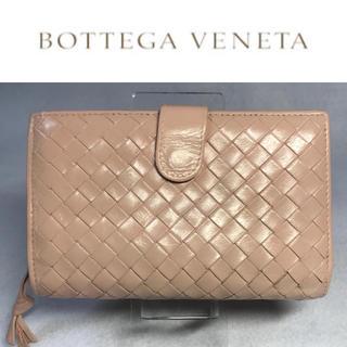 Bottega Veneta - ボッテガヴェネタ 折り財布 ピンクベージュ
