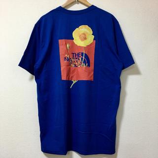 ザノースフェイス(THE NORTH FACE)の新品 ザ ノースフェイス ノードストローム 海外企画 Tシャツ  ブルー XXL(Tシャツ/カットソー(半袖/袖なし))