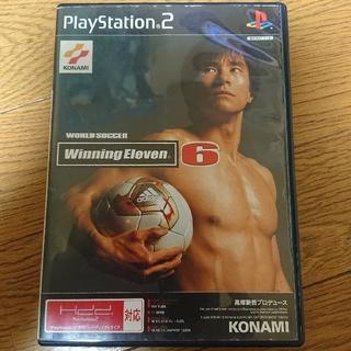 プレイステーション2(PlayStation2)のPS2 winningeleven6(家庭用ゲームソフト)
