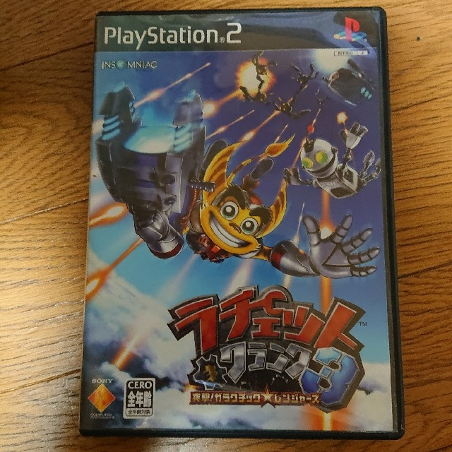 PlayStation2(プレイステーション2)のPS2  ラチェットクランク3 エンタメ/ホビーのテレビゲーム(家庭用ゲームソフト)の商品写真