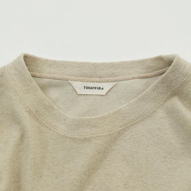 TODAYFUL(トゥデイフル)の新品!todayful(トゥデイフル) Boyfriend Tee レディースのトップス(Tシャツ(半袖/袖なし))の商品写真