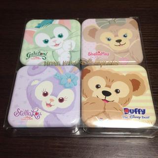 ダッフィー(ダッフィー)の限定品☆香港ディズニー グミ缶 セット(菓子/デザート)