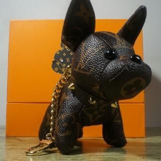 ルイヴィトン(LOUIS VUITTON)のルイヴィトン可愛い犬キーホルダー(キーホルダー)