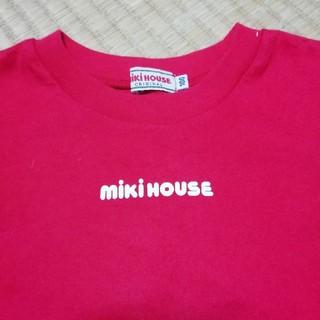 mikihouse - MIKI HOUSE☆100サイズミキハウスTシャツ赤☆美品