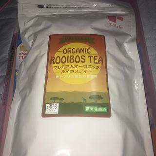 ティーライフ(Tea Life)のTea Life プレミアム オーガニック ルイボスティー ポット 90個入(健康茶)
