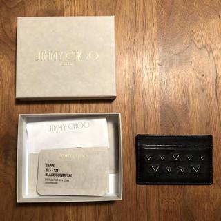 ジミーチュウ(JIMMY CHOO)のジミーチュウ 定期入れ カードケース(名刺入れ/定期入れ)